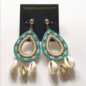 Rebecca Minkoff Louisa Beaded Chandelier Earrings
